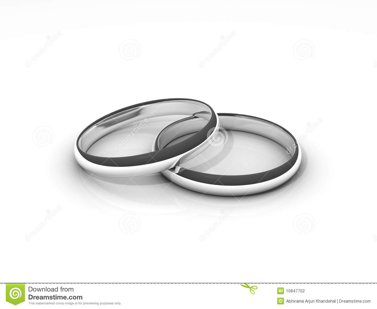 stock photography 3d silver wedding rings image silver wedding ring 3D Silver Wedding Rings