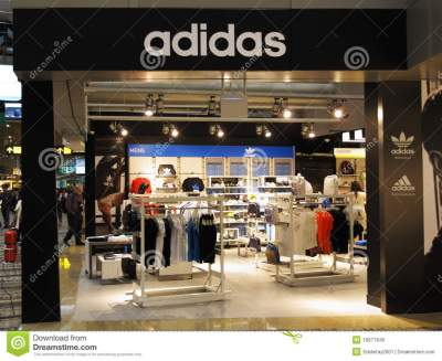 Adidas Sports Retail Boutique Outlet Editorial Image ...