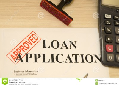 Approved Loan Application Stock Photo - Image: 24482460