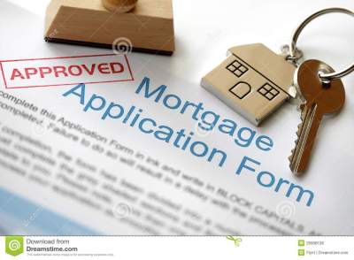 Approved Mortgage Application Royalty Free Stock Photos - Image: 26908108