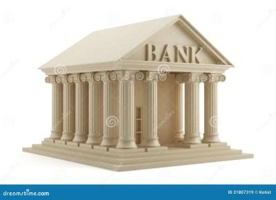 Bank icon stock illustration. Illustration of banking - 31807319