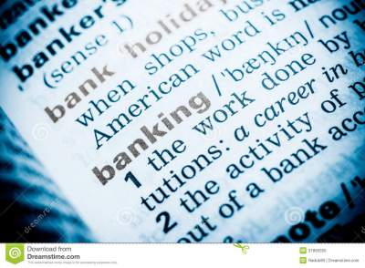 Banking Word Definition Royalty Free Stock Photo - Image: 37895555