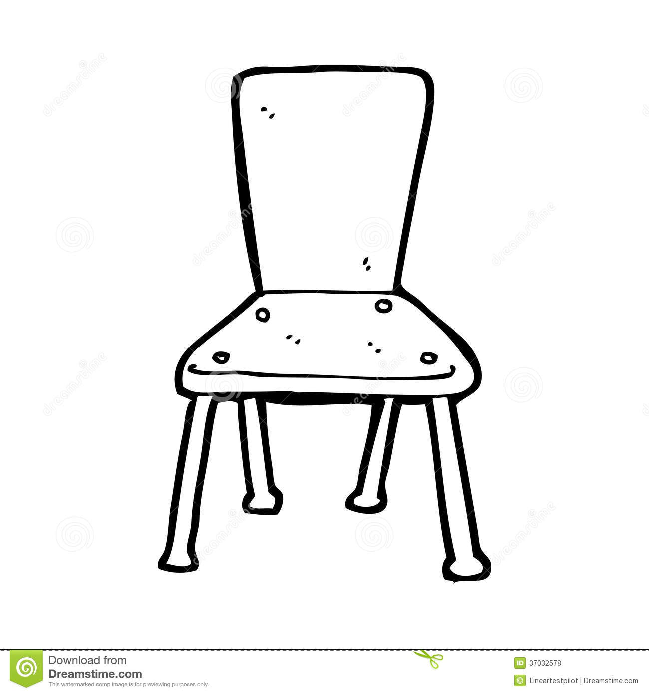 School Chair Drawing Cartoon Old Royalty For Ideas