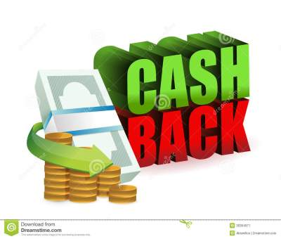 Cash Back Money Sign Illustration Design Stock Image ...