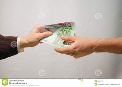 Cash Payment Royalty Free Stock Image - Image: 3985616