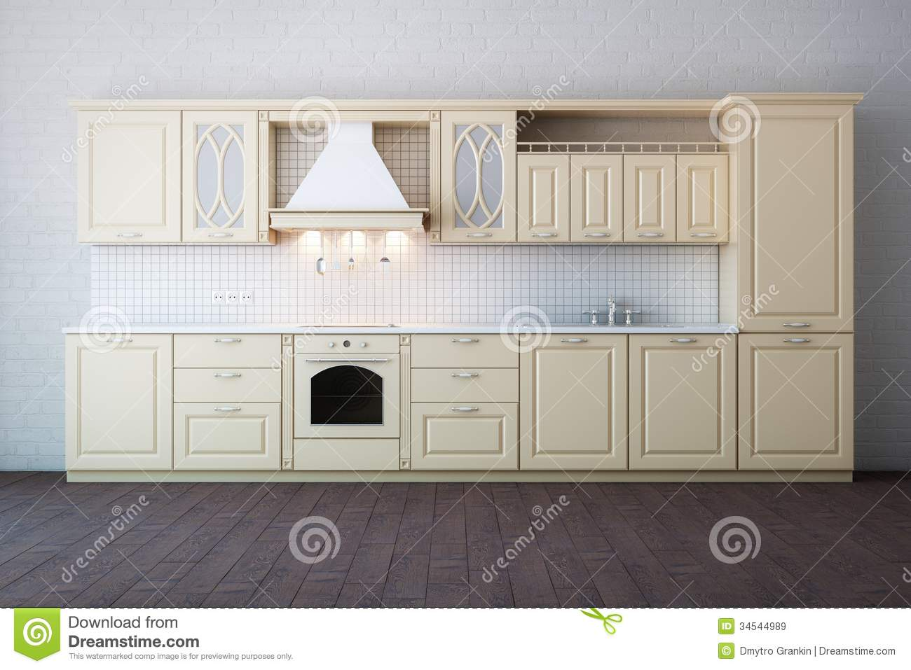 royalty free stock images classic luxury beige kitchen cabinet image beige kitchen cabinets Classic Luxury Beige Kitchen