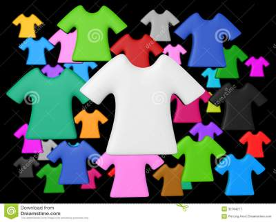 Colourful T-shirt Background Stock Image - Image: 32784211