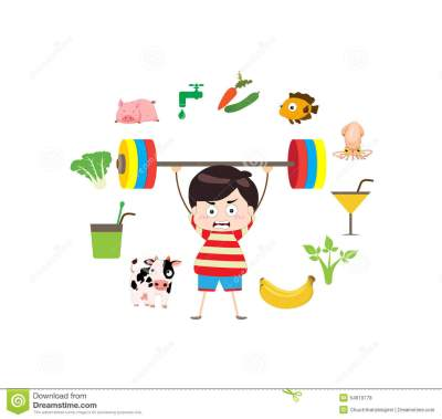 Fitness Healthy Lifestyles Stock Vector - Image: 54619778
