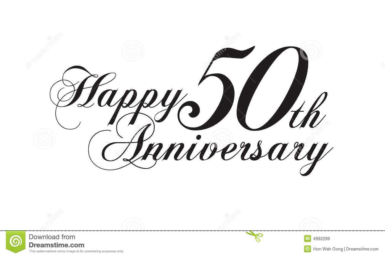 royalty free stock images happy 50th anniversary image 50th wedding anniversary Happy 50th anniversary