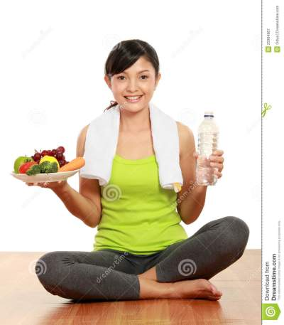 Healthy lifestyle balance stock image. Image of health ...