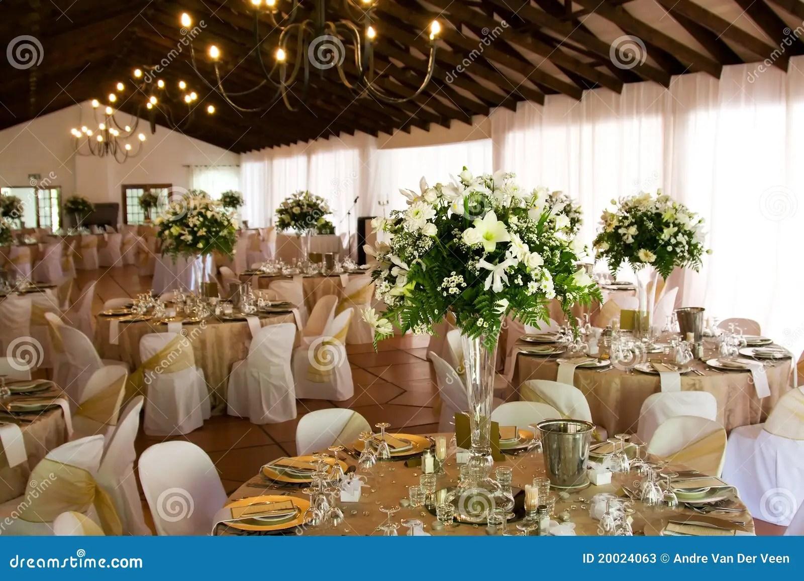 stock photo wedding decor beautiful hindu mandap image wedding decor Indoors wedding reception venue with decor Stock Photos