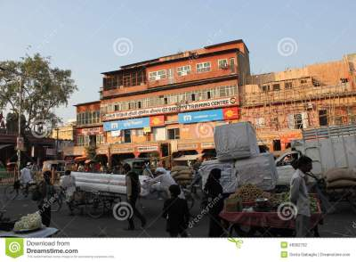 Daily Life In Jaipur Editorial Photography - Image: 48362702
