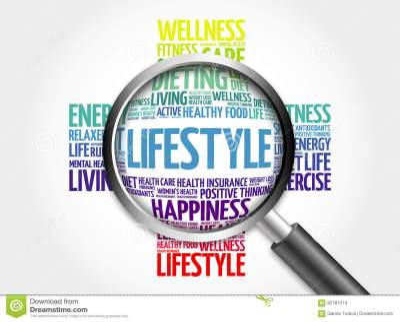 3d Magnifier Wordcloud Healthcare Concept Balance Royalty ...