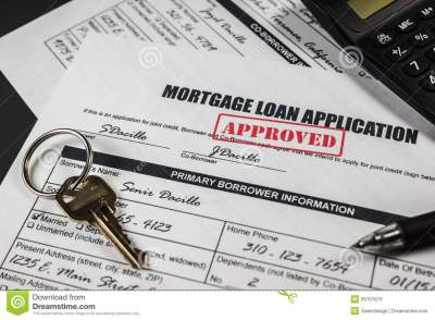 Mortgage Loan Application Approved 009