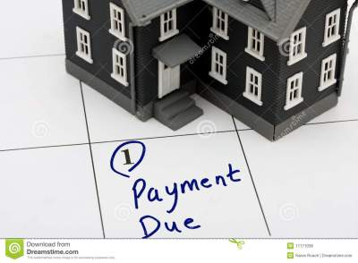 Mortgage Payment Royalty Free Stock Photos - Image: 11171038