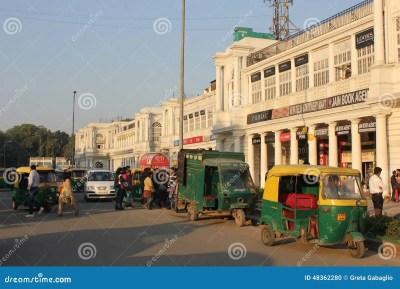 New Delhi City Centre Daily Life Editorial Image - Image ...