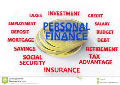 Personal Finance Render Stock Illustration - Image: 45839797