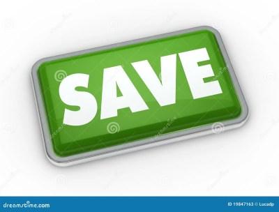 Save Button Stock Photos - Image: 19847163
