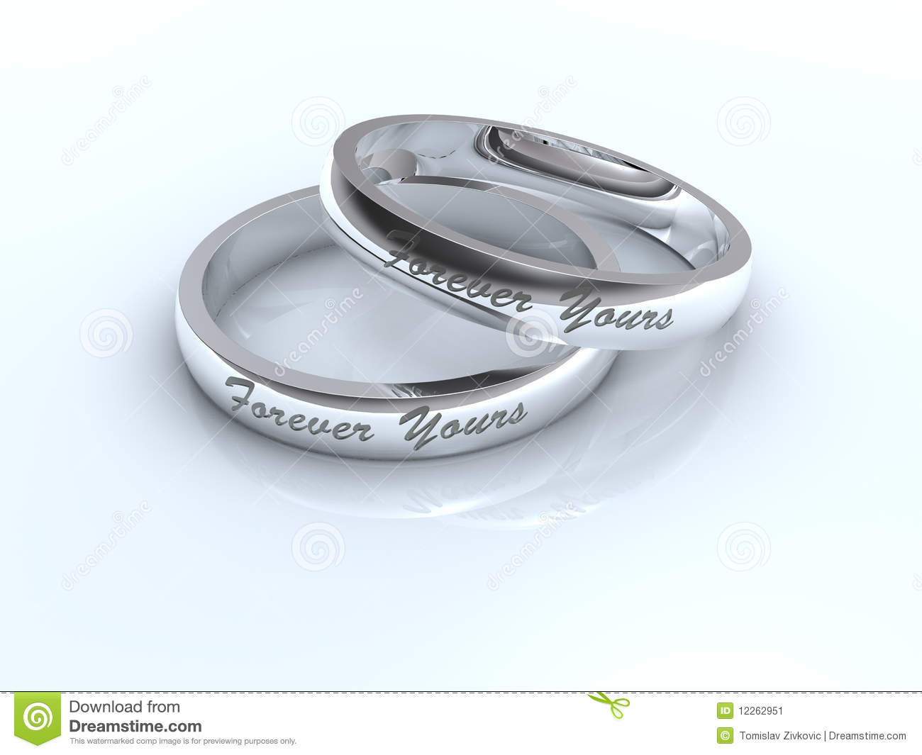 stock image silver wedding rings image silver wedding ring Silver wedding rings