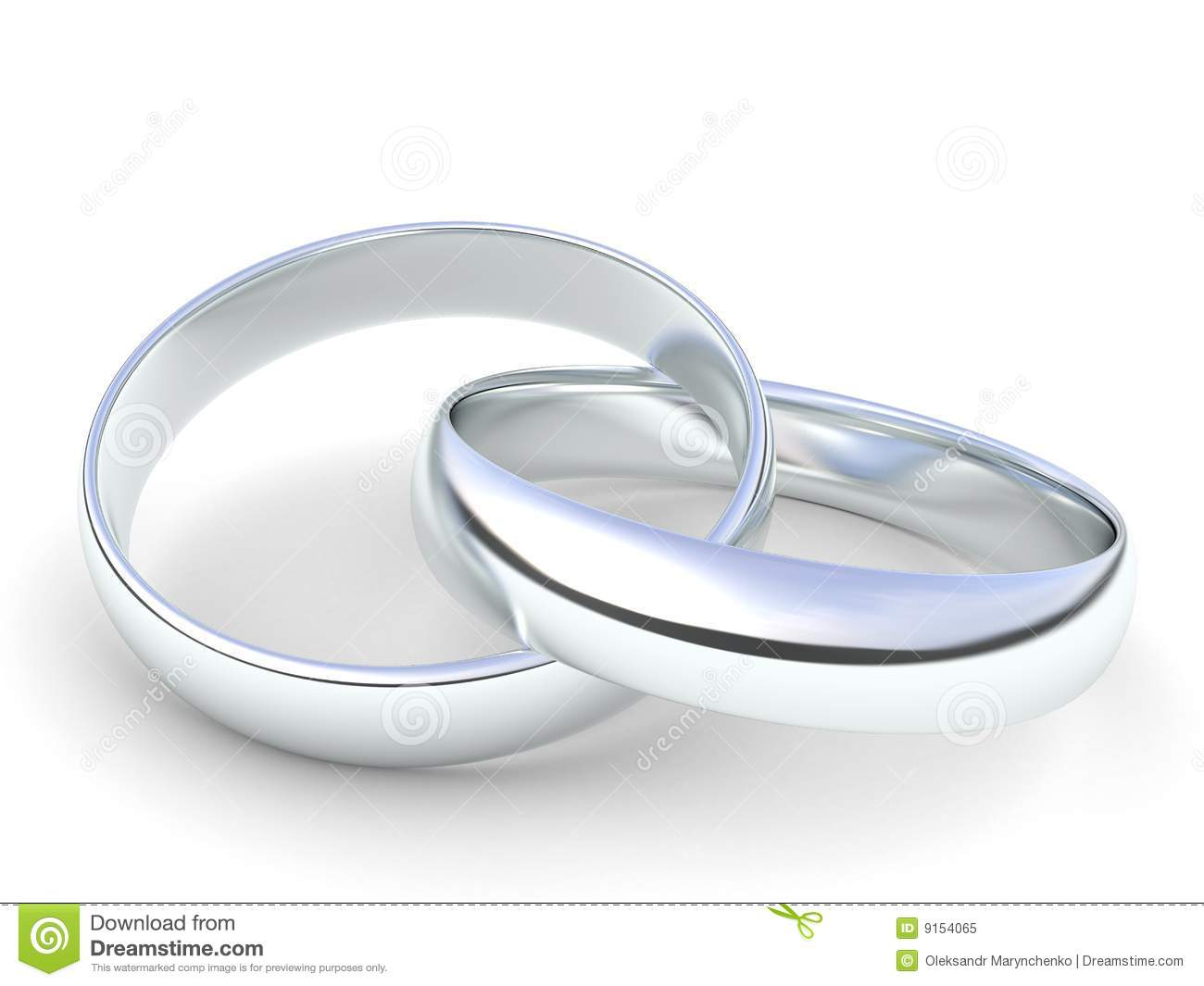 royalty free stock photo silver wedding rings image silver wedding ring Silver wedding rings