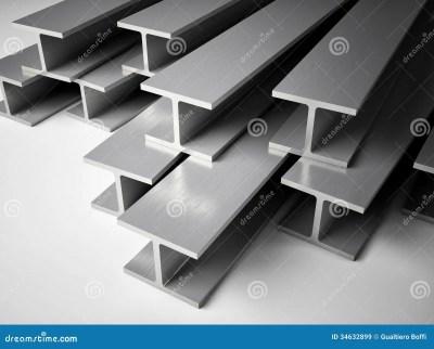 Structural steel stock illustration. Illustration of rail - 34632899