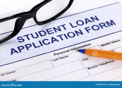 Student Loan Application Royalty-Free Stock Photo | CartoonDealer.com #16900545