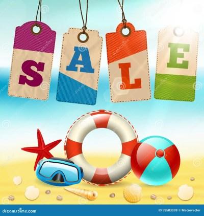 Summer sale wallpaper stock vector. Illustration of promo - 39503089