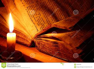 VIntage book candle stock photo. Image of candle, design - 56903400