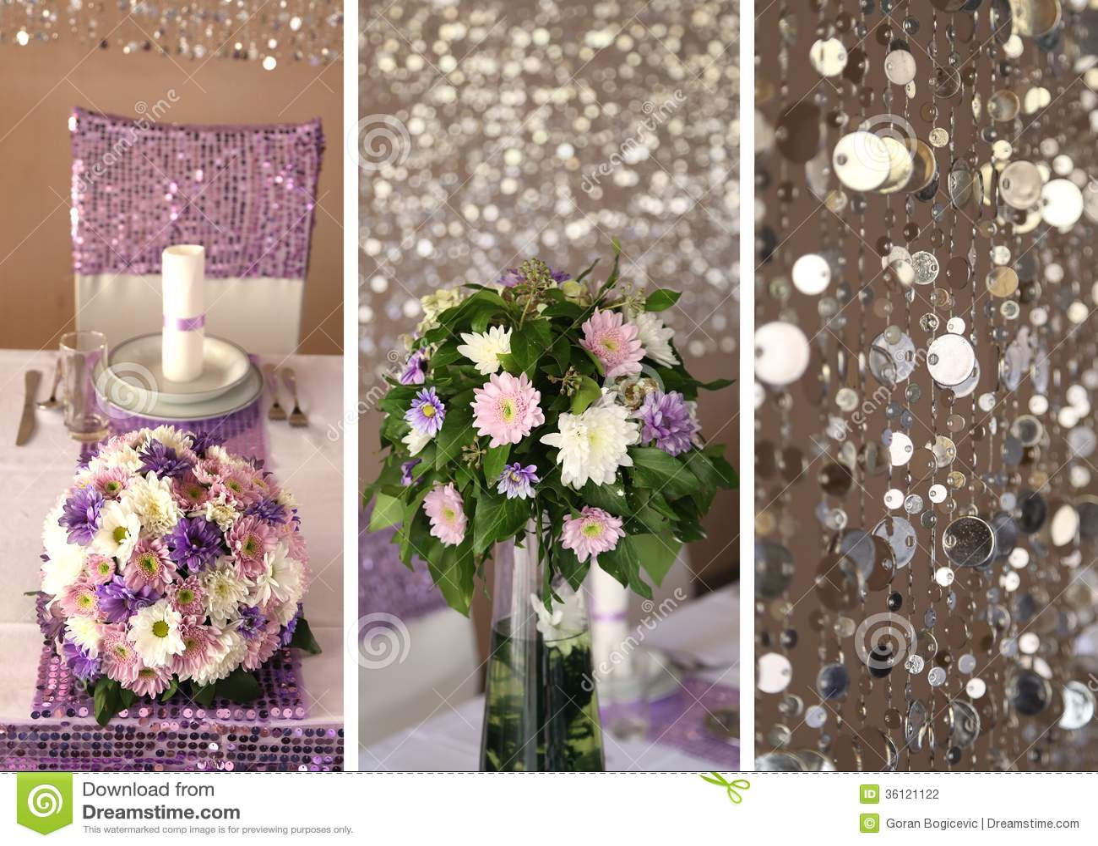 stock photography wedding decoration collage decorations image wedding decoration Wedding decoration