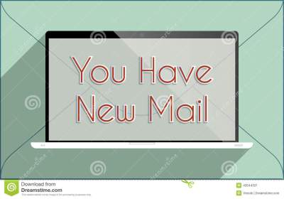 You Have New Mail Stock Vector - Image: 43544331