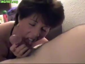 mature oral creampie