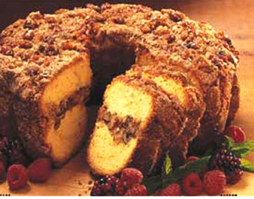Paleo Jewish Coffee Cake