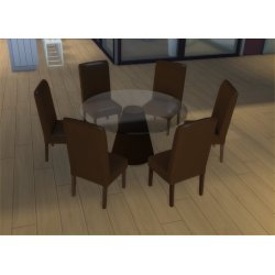 Small Crop Of Round Dining Table For 6