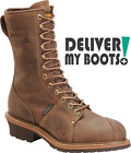 "Men's Carolina Boots CA904 - 10"" Waterproof Professional Linesman Steel Shank"