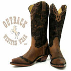 Boulet Women's Selvaggio Wood Snip Toe Boots 1655
