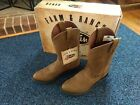 Justin Boots Farm & Ranch Crazy Cow JB1100 Leather New Multiple Sizes