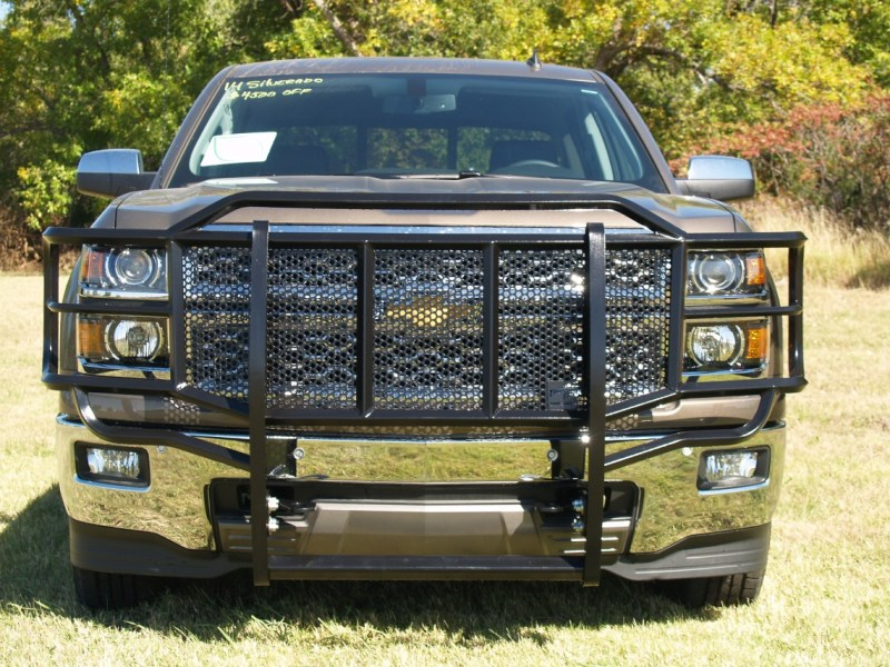 Grille Guard   Thunder Struck Bumpers Chevy 1500 Grille Guard 2014 2015