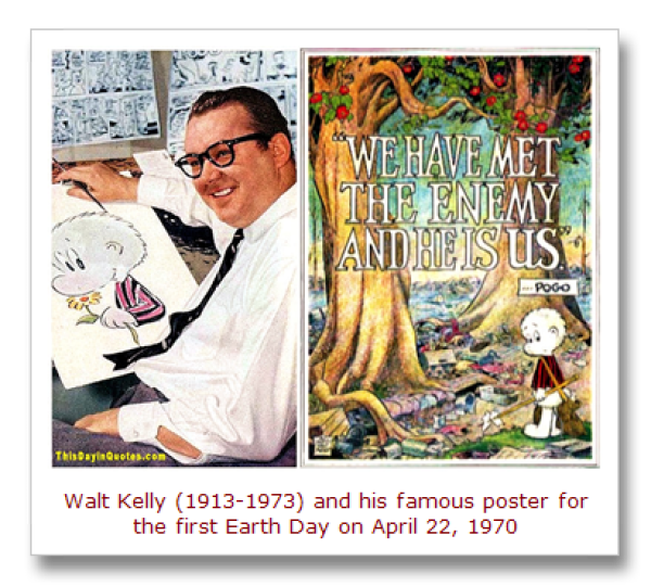 Walt Kelly & Pogo Earth Day Poster