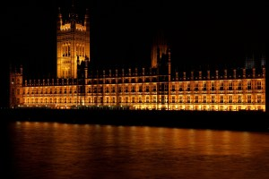 The British Houses of Parliament. Where should decisions be made?