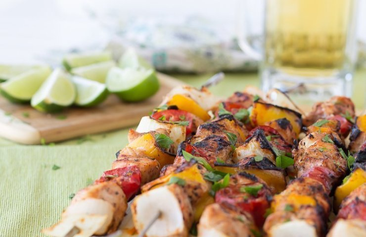 Chicken Tinga Kabobs