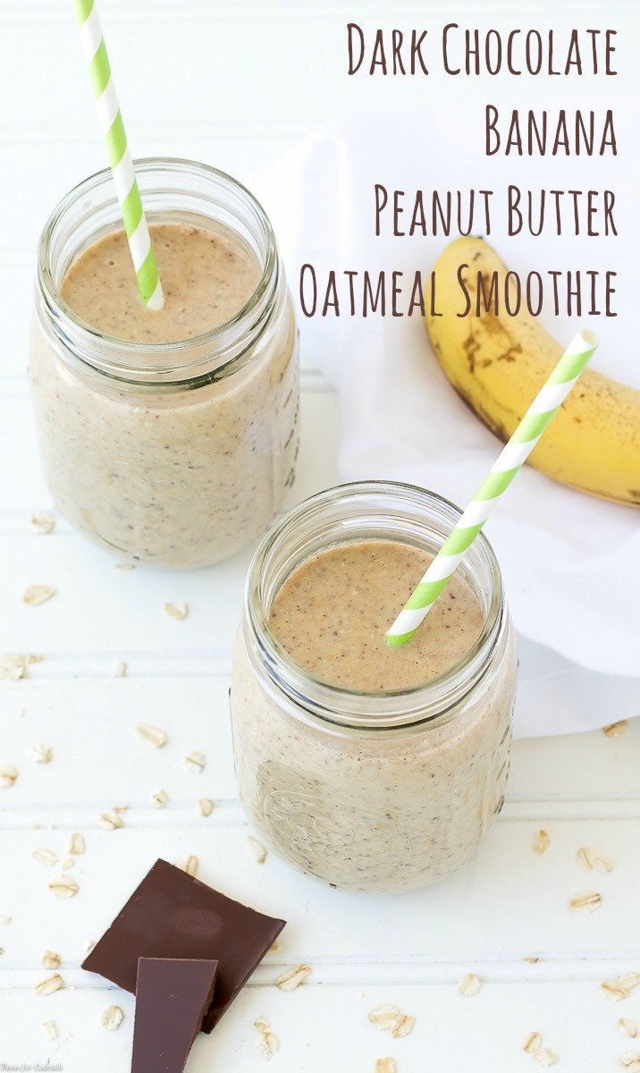 Early Morning Peanut Butter Banana Oatmeal Recipe — Dishmaps