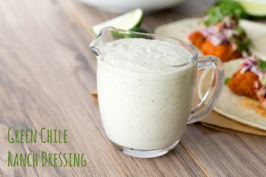 Green Chile Ranch Dressing