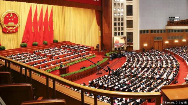 The National People's Congress approved the new law on NGOs on Thursday. (Reuters)