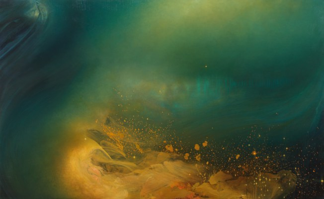 """Progeny"" Gorgeous painting by Samantha Keely Smith"