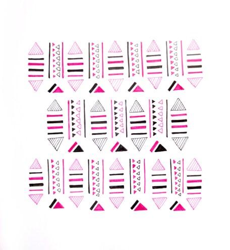 geo pattern by Christina Kwan