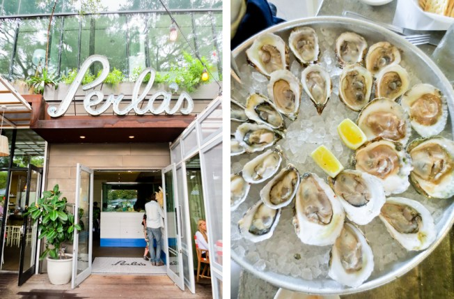 oysters at Perlas, Austin TX | tide & bloom