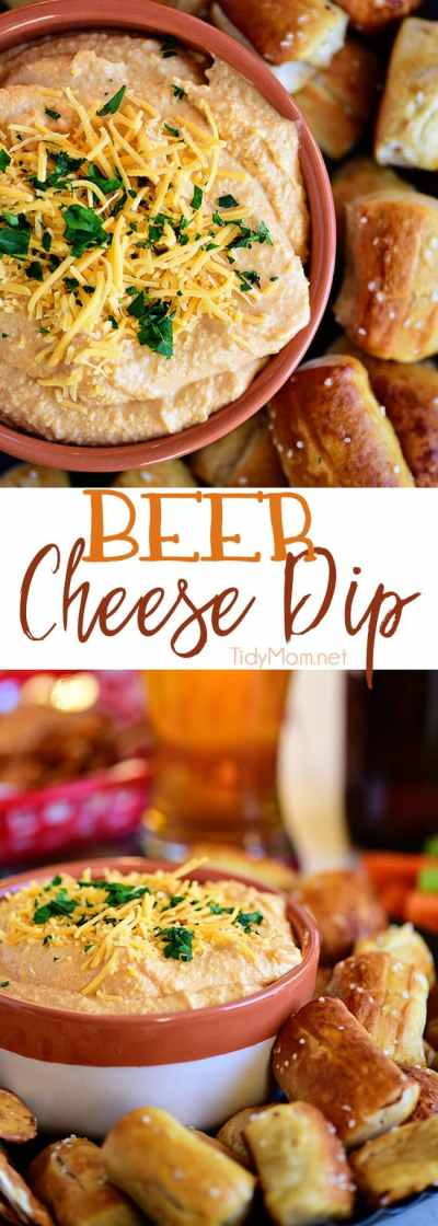 Beer Cheese Dip - Pub-Style | TidyMom®
