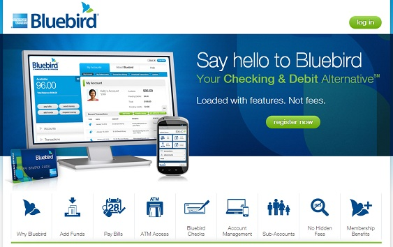 BlueBird Signup Page