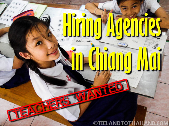 Teaching Hiring Agencies in Chiang Mai