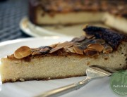 veganer Quark Grießkuchen